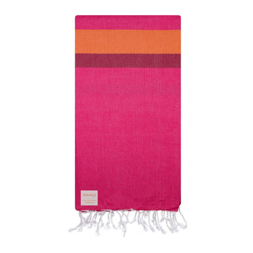 Merewether Fuchsia and Orange Turkish Towel