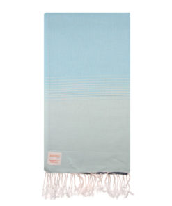 ombre blue turquoise turkish beach towels